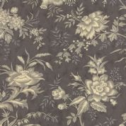Moda Atelier by 3 Sisters - 3537 - Drapery, Traditional Floral Grey Tones - 44052 26- Cotton Fabric